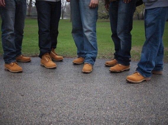 С чем носить timberland мужчинам